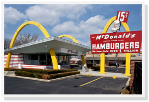 McDonald's owns nearly $30 million in real estate.
