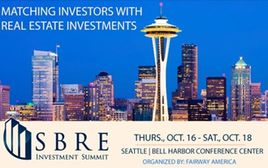You Could be our Special Guest at the SBRE Summit in Seattle!